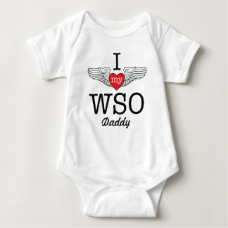 I Love My WSO Daddy with wings graphic Tee Shirt