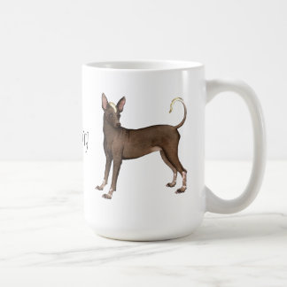 I Love my Xolo Basic White Mug