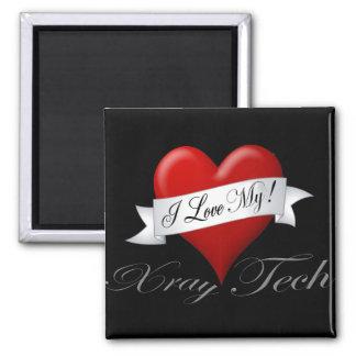 I Love My Xray Tech Merchangise Fridge Magnets