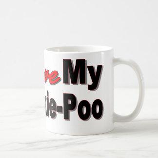 I Love My Yorkie-Poo Coffee Mug