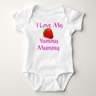 I Love my Yummy Mummy Baby top