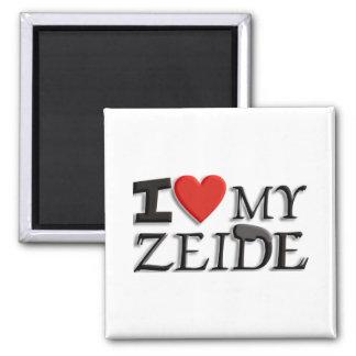 I love my Zeide Square Magnet