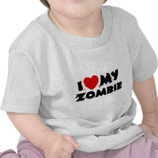 I Love My Zombie T Shirts
