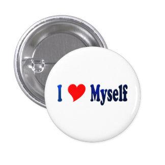 I Love Myself 3 Cm Round Badge
