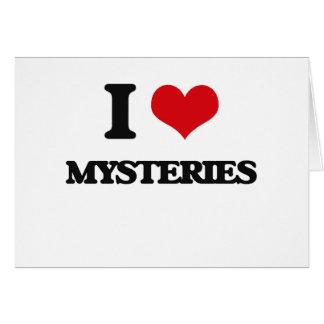 I Love Mysteries Card