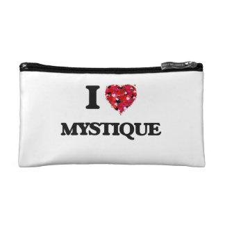 I Love Mystique Cosmetic Bags