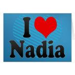 I love Nadia Cards