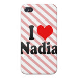 I love Nadia Cover For iPhone 4