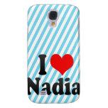 I love Nadia Galaxy S4 Cases