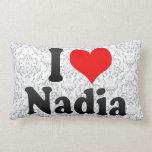 I love Nadia Pillows