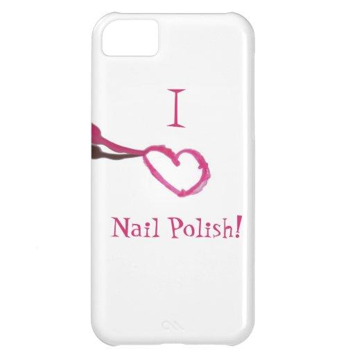 I love nail polish case for iPhone 5C