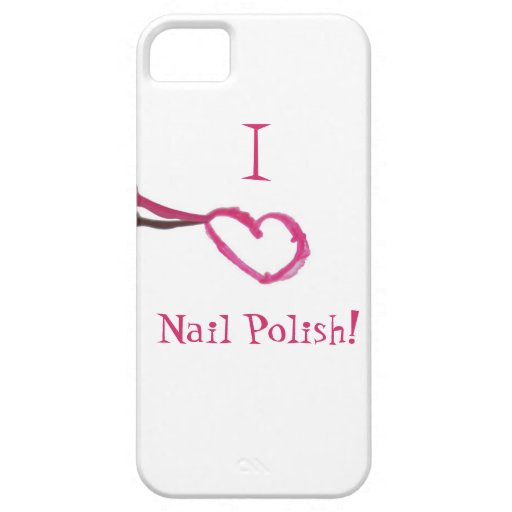 I love nail polish iPhone 5 cases