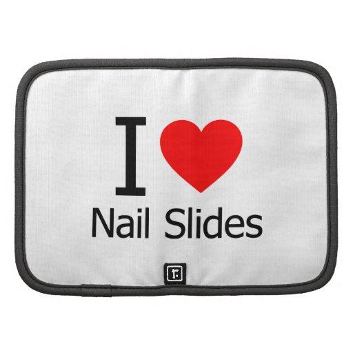I Love Nail Slides Planner