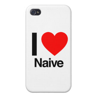i love naive iPhone 4/4S covers