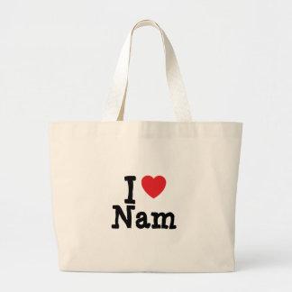 I love Nam heart T-Shirt Bag