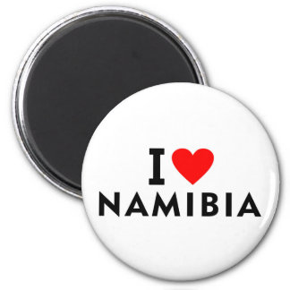 I love Namibia country like heart travel tourism Magnet