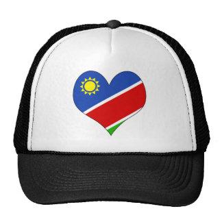 I Love Namibia Mesh Hat