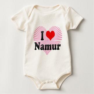 I Love Namur, Belgium Baby Bodysuit