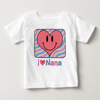 I Love Nana Baby T-Shirt