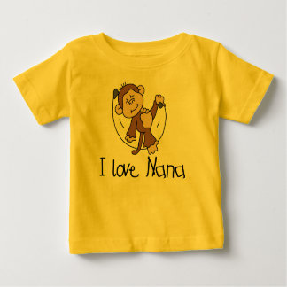 I Love Nana Baby T-Shirt