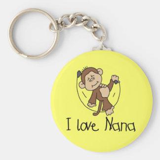 I Love Nana T-shirts and Gifts Key Chains