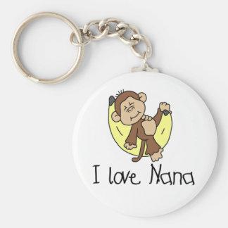 I Love Nana T-shirts and Gifts Key Ring