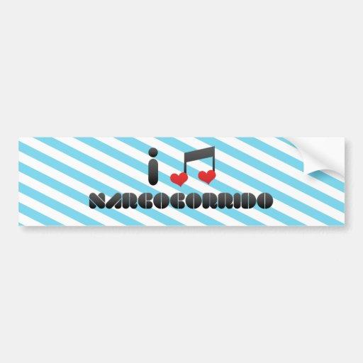 I Love Narcocorrido Bumper Sticker