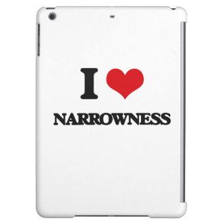I Love Narrowness iPad Air Cases