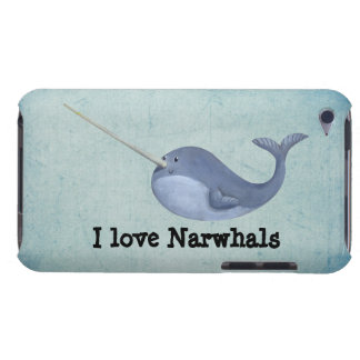 I love Narwhals Barely There iPod Case