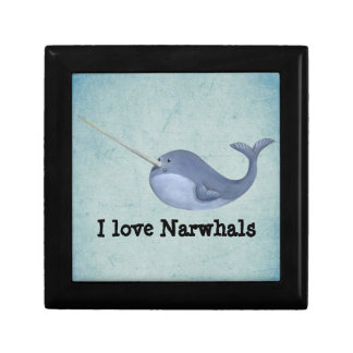 I love Narwhals Gift Box