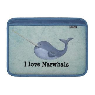 I love Narwhals MacBook Sleeve
