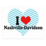 I Love Nashville-Davidson Postcard
