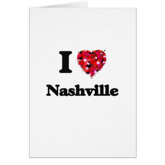 I love Nashville Tennessee Greeting Card