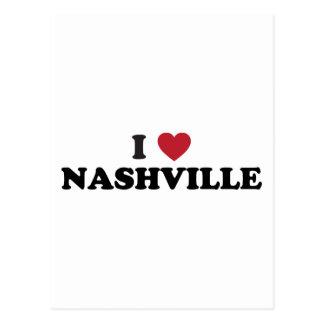 I Love Nashville Tennessee Postcard
