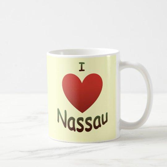 I Love Nassau Coffee Mug