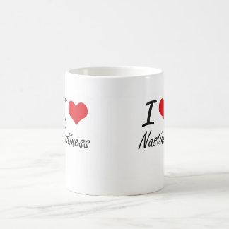 I Love Nastiness Basic White Mug