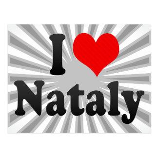 I love Nataly Postcards