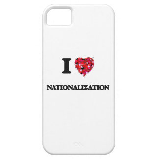 I Love Nationalization Case For The iPhone 5