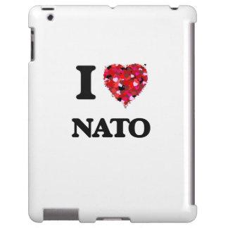 I Love Nato iPad Case