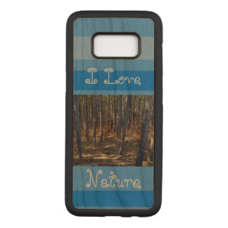 I love nature samsung galaxy s8 case