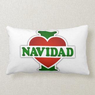 I Love Navidad Throw Cushions