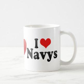 I Love Navys Mug