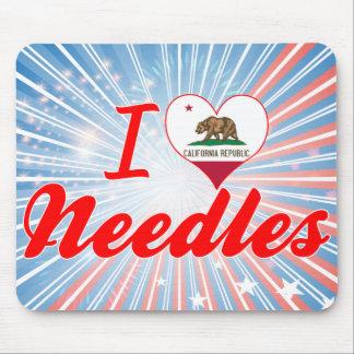 I Love Needles, California Mousepad