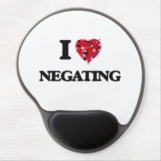 I Love Negating Gel Mouse Pad
