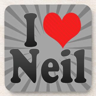 I love Neil Beverage Coasters