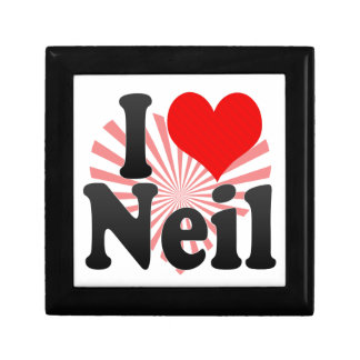 I love Neil Jewelry Boxes