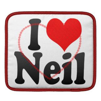 I love Neil iPad Sleeve
