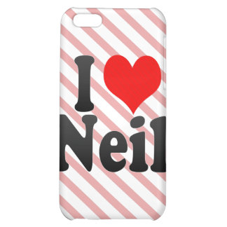 I love Neil iPhone 5C Covers
