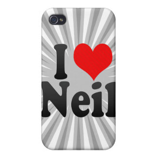 I love Neil Case For iPhone 4