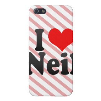 I love Neil Cover For iPhone 5